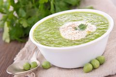 Pea soup Stock Image