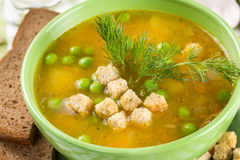 Pea soup Stock Images
