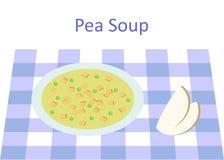 The pea soup Stock Photo