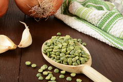 Pea soup ingredients Stock Photography