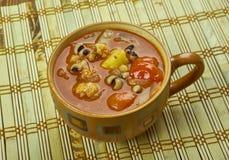 Pea Soup Negro-observado fotos de archivo