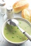 Pea soup Royalty Free Stock Photo