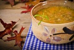 Pea soup (Polish Grochowka) Royalty Free Stock Photo