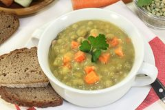 Pea stew Stock Photography