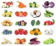 Peac de paprika d'oranges de pommes de collection de fruits et légumes Photo stock