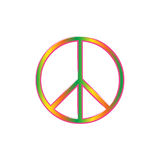 Peace. Vector symbol Royalty Free Stock Photos