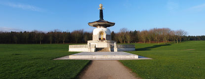 Peace. Milton Keynes Peace Pagoda A Symbol Of World Peace stock images