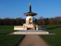 Peace. Milton Keynes Peace Pagoda A Symbol Of World Peace royalty free stock image