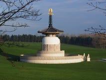 Peace. Milton Keynes Peace Pagoda A Symbol Of World Peace royalty free stock photos