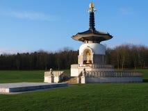 Peace. Milton Keynes Peace Pagoda A Symbol Of World Peace stock photos