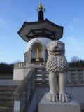Peace. Milton Keynes Peace Pagoda A Symbol Of World Peace stock photography