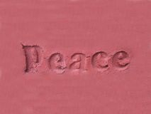 Peace. Background Stock Photography