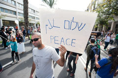 Peace activist Stock Photography