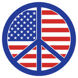 Peace In America Royalty Free Stock Image