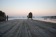 Peace And Tranquility At Sunset Royalty Free Stock Photography