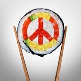 Peace In Asia Concept Royalty Free Stock Photos