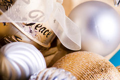 Peace bauble Royalty Free Stock Photo