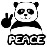 Peace bear Royalty Free Stock Photography