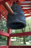 Peace Bell. The Peace Bell is rung for good luck at the Byodo-In Temple in Kahaluu on Oahu, Hawaii Stock Photo