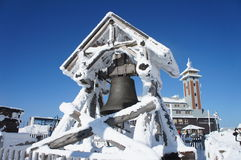 The Peace Bell on the Fichtelberg Royalty Free Stock Photography