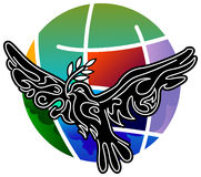 Peace bird Stock Image