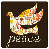 Peace bird Stock Photo