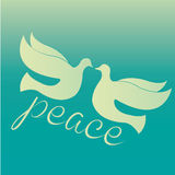 Peace birds Royalty Free Stock Images