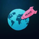 Peace bomb Stock Image