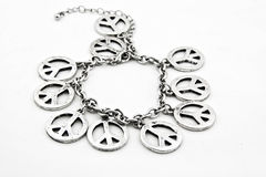 Peace Bracelet Stock Photography
