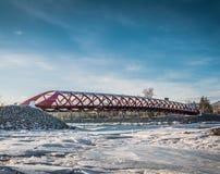 Peace bridge royalty free stock photography