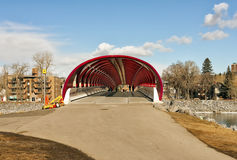 Peace bridge Royalty Free Stock Images