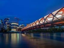 Peace Bridge, Calgary Royalty Free Stock Images
