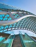 Peace bridge. Tbilisi, Georgia Stock Photography