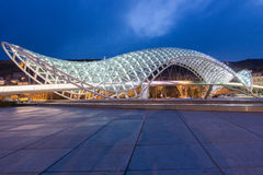 Peace Bridge Tbilisi Royalty Free Stock Photos