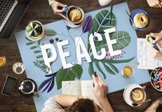 Peace Calm Free Nonviolence Privacy Solitude Zen Concept Stock Photos