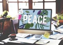 Peace Calm Free Nonviolence Privacy Solitude Zen Concept Stock Photography