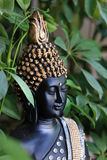 Peace and calmness. Beautiful shot of lord budhha face in peace and calmness Stock Photography