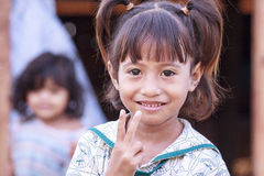 Peace child Stock Image