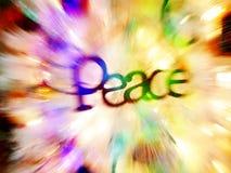 Peace at Christmas royalty free stock image