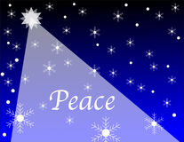 Peace of Christmas Stock Photography