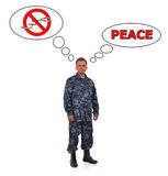 Peace Concept Royalty Free Stock Photography