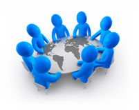 Peace conference Royalty Free Stock Images