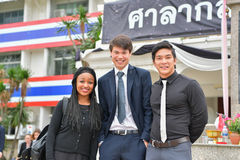 Peace Corps of United States in Thailand. Stock Photography