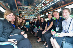 Peace Corps of United States in Thailand. Stock Image