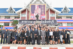 Peace Corps of United States in Thailand. Stock Photos