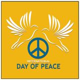 Peace Day background vector. designs for posters, backgrounds, cards, banners, stickers, etc. EPS file available. see more images related royalty free illustration