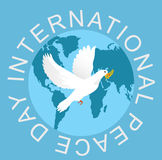 Peace Day illustration Stock Photo