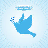 Peace day Stock Photo
