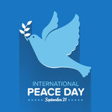 Peace day Stock Photography
