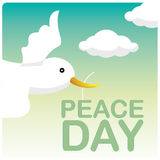 Peace day Royalty Free Stock Photography